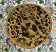 Chinese Cloisonne Enamel Palace Urn Detail